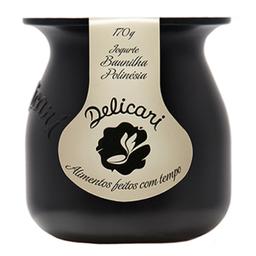 Iogurte Delicari Integral Baunilha Polinesia 170 g