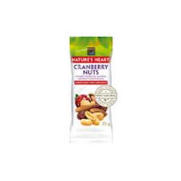 Snack Nuts Nature´S Heart Sem Açúcar Cranberry 25 g