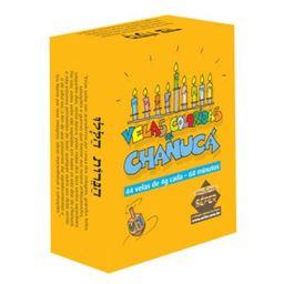 Vela Chanuka Pequeno 44 Colorida Und
