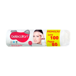 Algodão Disco Bellacotton 100 Und