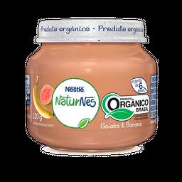 Alimento Infantil Orgânico Naturnes Goiaba E Banana 120 g