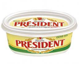 Manteiga President Com Sal Pote 200 g