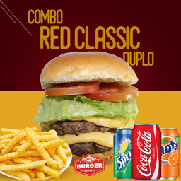 Combo red classic duplo