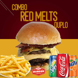 Combo red melts duplo