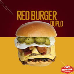 Red burger duplo