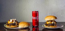 Combo 2 Dias X-Bacon + Coca-Cola Lata