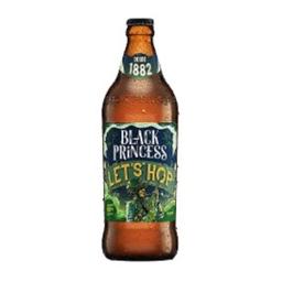 Cerveja Black Princess Tiãão Bock 600 mL