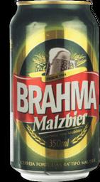 Cerveja Brahma Malzbier Lata 350 mL