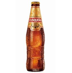 Cerveja Cusqueã±A Golden Lager Long Neck 330 mL