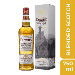 Whisky Dewars White Label 750 mL