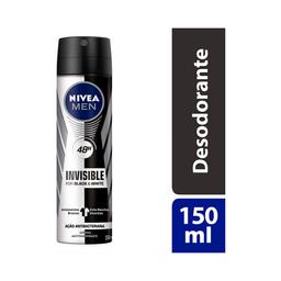 Nivea Men Desodorante Aerossol Masculino Black White