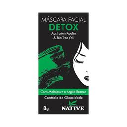 Máscara Facial Detox Australian Kaolin & Tea Tree Oil 8 g