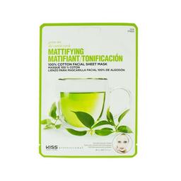 Máscara Facial Hidratante Chá Verde Kiss New York 10 g