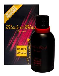 Perfume Edt Paris Elysees Masculino Black Is Black 100 mL