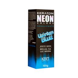 Tonalizante Keraton Neon Colors Uranium Blue 100 g