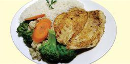 Executivo - filé de frango com legumes