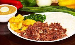 Prato 6 - carne de seca