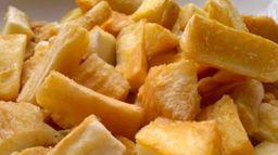 Porção mandioca frita