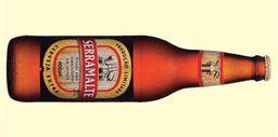 Cerveja serra malte 600ml