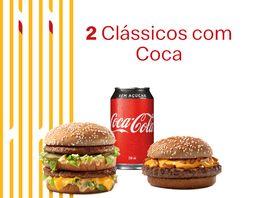 2 Clássicos + Coca-Cola