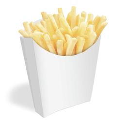 Batata frita individual 150g