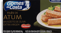 Filé Atum Gomes Costa Azeite 125 g