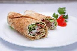 Shawarma faláfel (vegano)