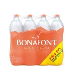 Bonafont Água Mineral Sem Gás - Pack Com 8 Unidades