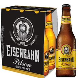 Cerveja Eisenbahn Pilsen 355 mL Com 6 Und