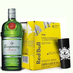 Combo 06 Tanqueray + 4 Red Bull Tropical