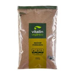 Açúcar Mascavo Orgânico Vitalin 500 g