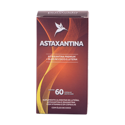 Astaxantina 60 Cápsulas