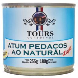 Atum Pedacos Natural Light Tours 180 g