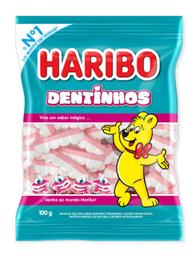 Bala Gelatina Dentinhos Haribo 100 g