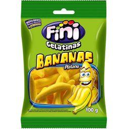 Bala Gelatina Fini Bananas 100 g