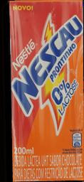 Bebida Láctea Nescau Prontinho Zero Lactose 200 mL