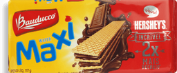 Biscoito Bauducco Wafer Maxi Chocolate 117 g