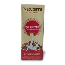 Café Com Leite De Amêndoas Com Chocolate Natuterra 200 mL