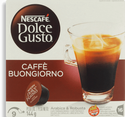Café Nescafé Dolce Gusto Matinal 16 Und