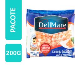 Camarão Dellmare Descascado Cozido 131/150 200 g