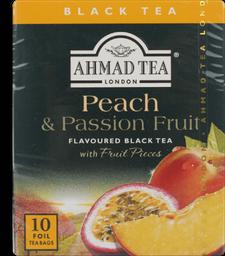 Chá Ahmad Tea Peach Passion 10 Und