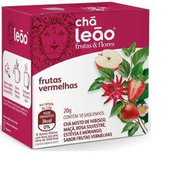 Chá Leão Frutas Vermelhas 20 g 10 Und