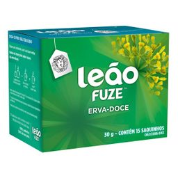 Chá Leão Fuze Erva-Doce 30 g 15 Und