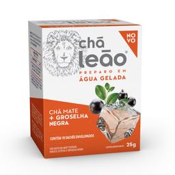 Chá Mate Leão Cold Brew E Groselha Negra 24 g