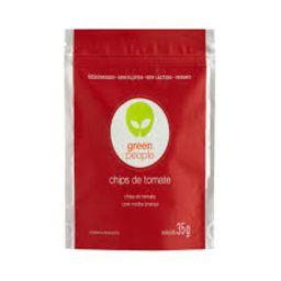 Greenpeople Chips Sem Glúten Lactose Vegano Tomate