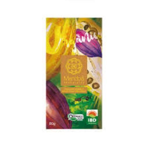 Chocolate 60% Orgânico Canela Mendoá 80 g