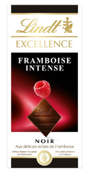 Chocolate Lindt Excellence Dark Framboesa 100 g