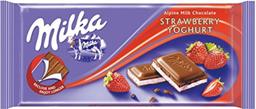 Chocolate MILKA Strawberry Yoghurt