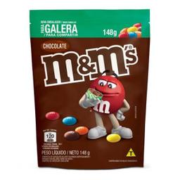 Confeitos M&M Chocolate Ao Leite 148 g