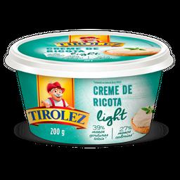 Creme De Ricota Tirolez Light 200 g